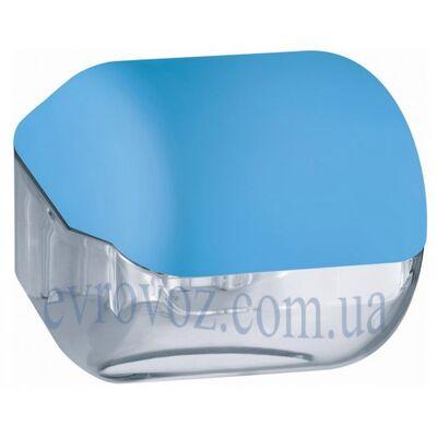 Держатель стандартной туалетной бумаги голубой