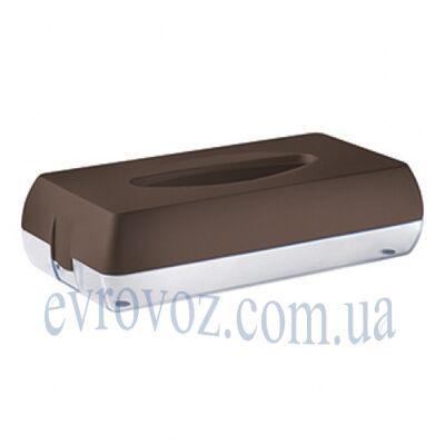 Держатель салфеток косметических Колор коричневый