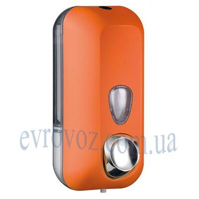 Дозатор жидкого мыла 0,55 л Колор оранж