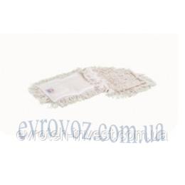 031 Моп х/б 80 см. с карманами для сухой и влажной уборки