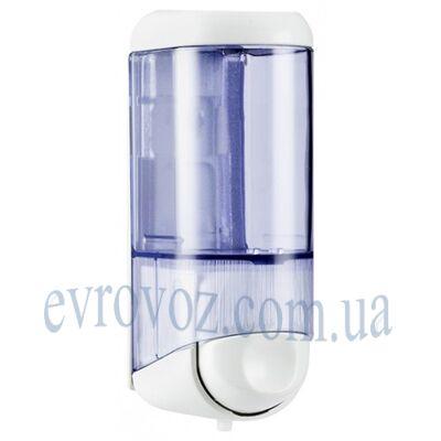 Дозатор жидкого мыла 0,17 л Аквалба серебристо-глянцевый
