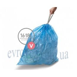 Мешки для мусора плотные с завязками 16-18л Великобритания