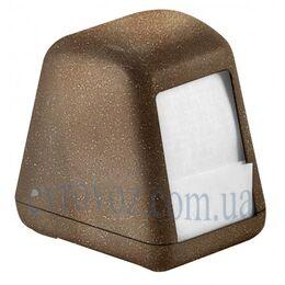 Держатель салфеток столовых WD коричневый