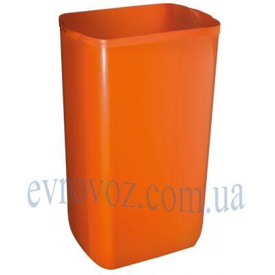 Урна для мусора 23л Колор оранж