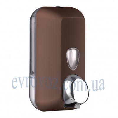 Дозатор мыла-пены 0,5 л Колор коричневый
