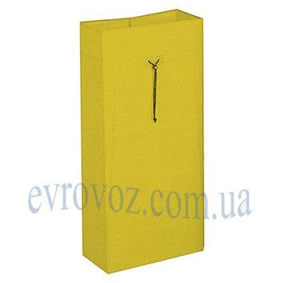 Мешок 120л на шнурке желтый Украина