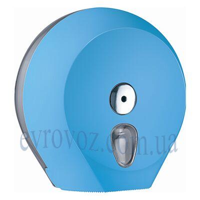 Держатель туалетной бумаги Джамбо Колор голубой
