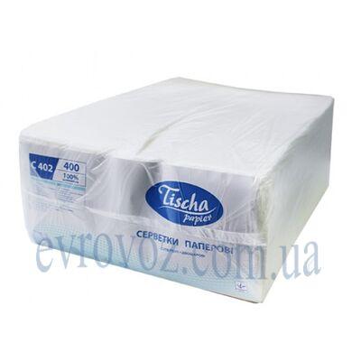 1/4 Салфетки столовые 400 листов 25х25 см