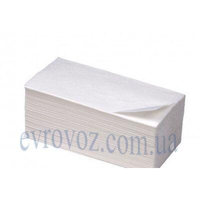 Бумажные полотенца V-сложения 150 л, 2 слоя, 100% целлюлоза