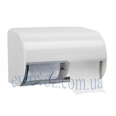 Держатель туалетной бумаги в стандартных рулонах с гильзой Аквалба белый