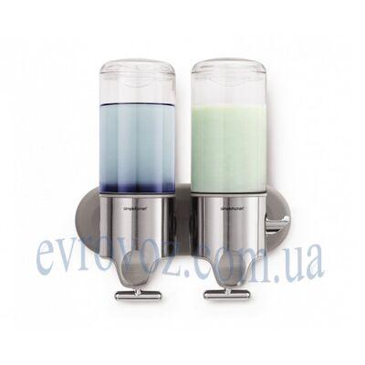 Дозатор жидкого мыла двойной 2*0,444 л