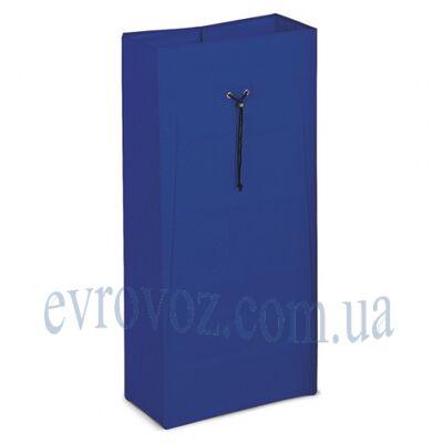 Мешок 120л на шнурке синий Украина