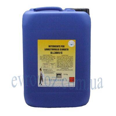 Средство моющее хлорсодержащее для посудомоечных машин 12кг