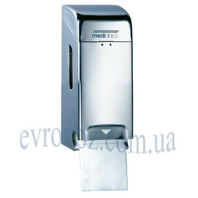 Держатель туалетной бумаги стандарт на 2 рулона глянцевый
