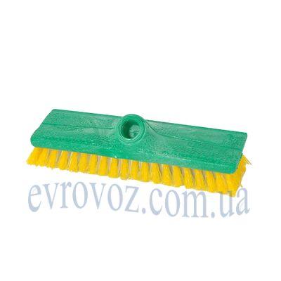 Щетка для пола поливинилхлорид 24см СуперМикс зеленая