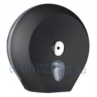 Диспенсер Колор для туалетной бумаги Джамбо черный