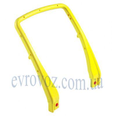Рукоятка пластмассовая к тележке U-образная желтая