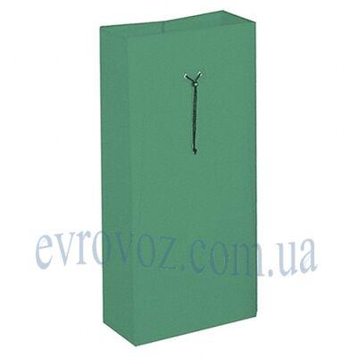 Мешок 120л на шнурке зеленый Италия