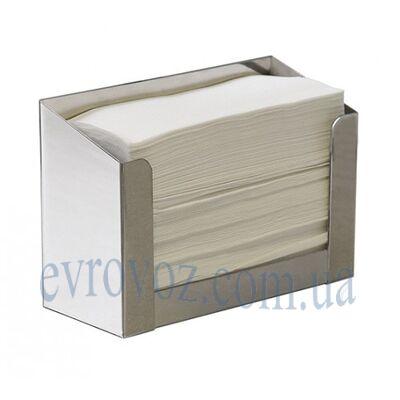 Держатель бумажных полотенец в пачках Е-Линия сатин