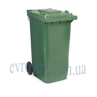 Контейнер для мусора 240л серый