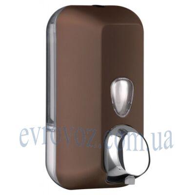 Дозатор жидкого мыла 0,55 л Колор коричневый