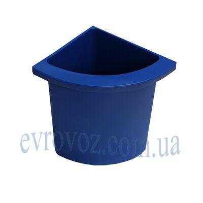 Разделитель урны для мусора Аквалба синий