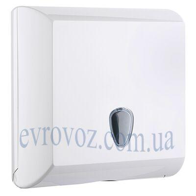 Держатель бумажных полотенец V-сложения Плюс белый