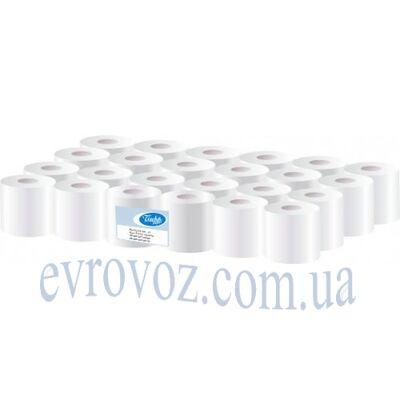 Туалетная бумага в стандартном рулоне 100% целлюлоза 2 слоя 230 листов