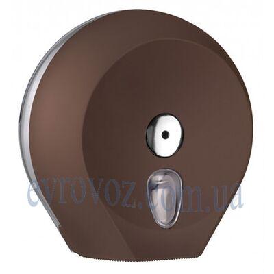 Диспенсер Колор для туалетной бумаги Джамбо коричневый