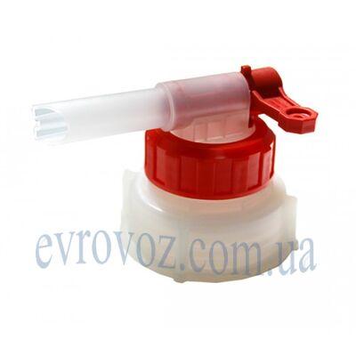 Кран-крышка пластиковая для канистры