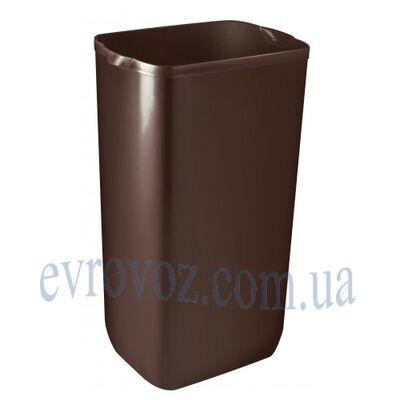 Урна для мусора и бумажных полотенец Колор 23л коричневая
