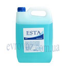 Гель для душа ESTA голубой 5л