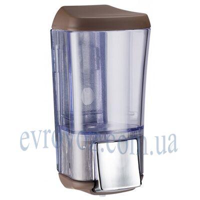 Дозатор жидкого мыла 0,17 л Калла коричневый