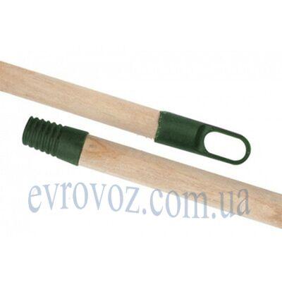 Рукоятка деревянная с резьбой 130см