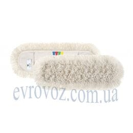 Моп для сухой уборки хлопок 60см Basic Cotton с цветной маркировкой