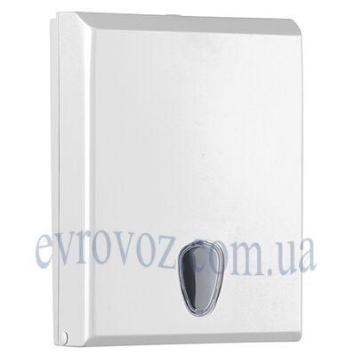 Диспенсер для узкопанельных бумажных полотенец Престиж белый