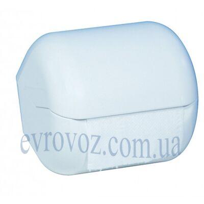 Держатель туалетной бумаги стандарт Аквалба белый