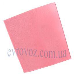 Универсальные салфетки для уборки 38х40 см 10 шт Италия розовые
