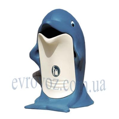 Урна уличная Дельфин 85л