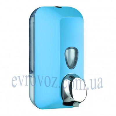 Дозатор мыла-пены 0,5 л Колор голубой