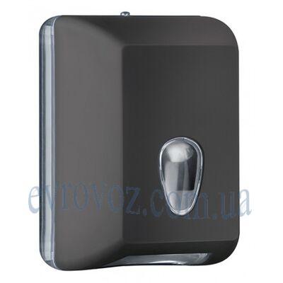 Диспенсер для листовой туалетной бумаги Колор чорный