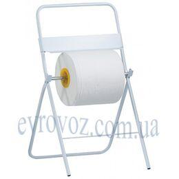 Держатель бумажных рулонных полотенец МаксиINOX напольный