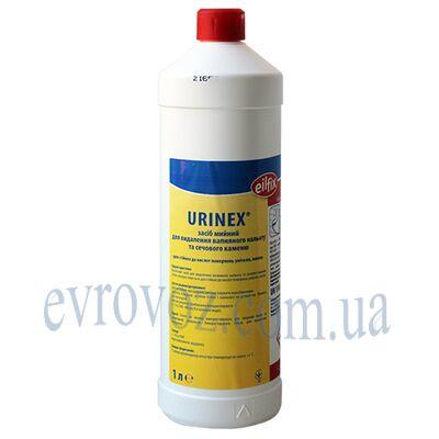 Профессиональное моющее средство для удаления мочевого камня и известкового налета Urinex 1л