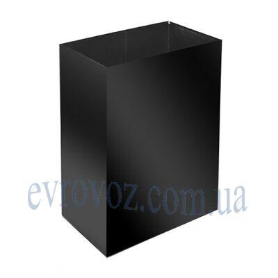 Урна для мусора 60л Линия-С черная