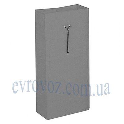 Мешок 120л на шнурке серый Украина