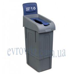 Урна для мусора Микс сортировочная 80л