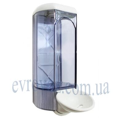Локтевой дозатор жидкого мыла 0,8 л Аквалба
