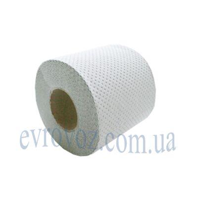 Туалетная бумага в рулоне Попса 34 м серая