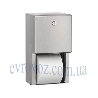 Держатель туалетной бумаги стандарт двойной сатиновый