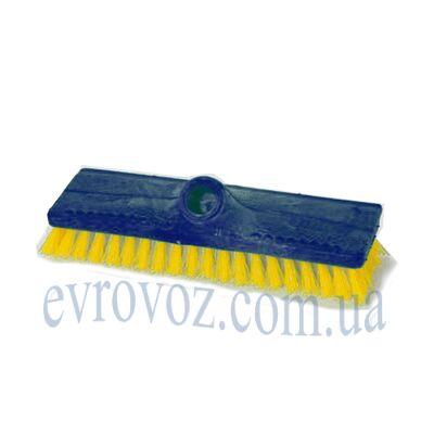 Щетка для пола поливинилхлорид 24см СуперМикс синяя